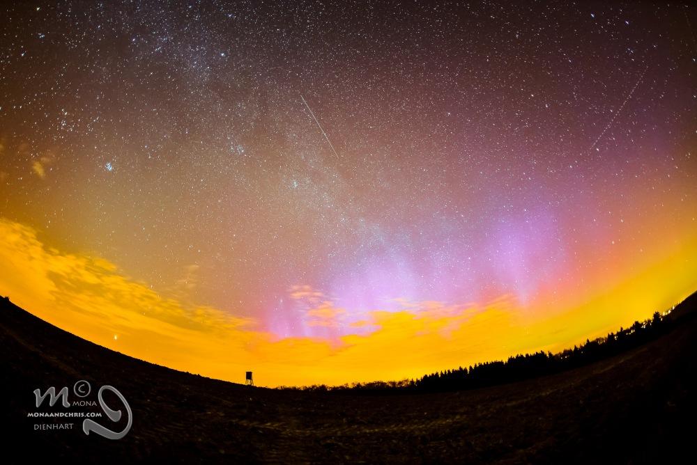 Aurora Borealis in Northern Luxembourg (3/3)