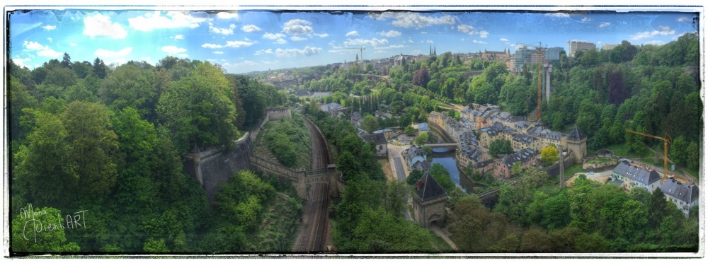 Early morning in Luxembourg-City (2/6)